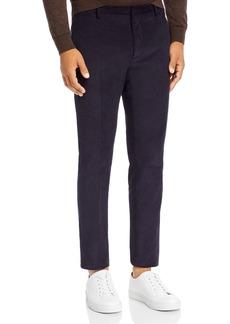 The Kooples Embossed Velvet Slim Fit Pants