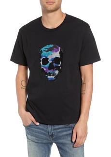 The Kooples Embroidered Skull T-Shirt