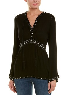 The Kooples Embroidered Top