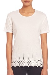 The Kooples English Embroidered T-Shirt