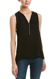 The Kooples Georgette Silk Tank