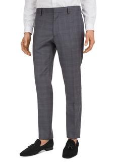 The Kooples Glen Plaid Slim Fit Trousers