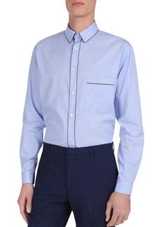 The Kooples Glory Tiny Stripes Classic Fit Shirt