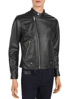 The Kooples Irish Leather Motocross Jacket