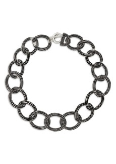 The Kooples Linked Chain Toggle Necklace, 21.6""
