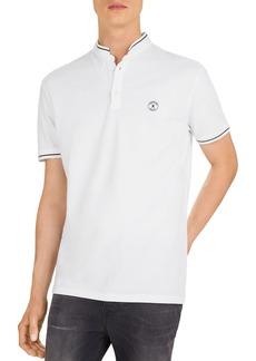 The Kooples Logo Piqu� Slim Fit Polo Shirt