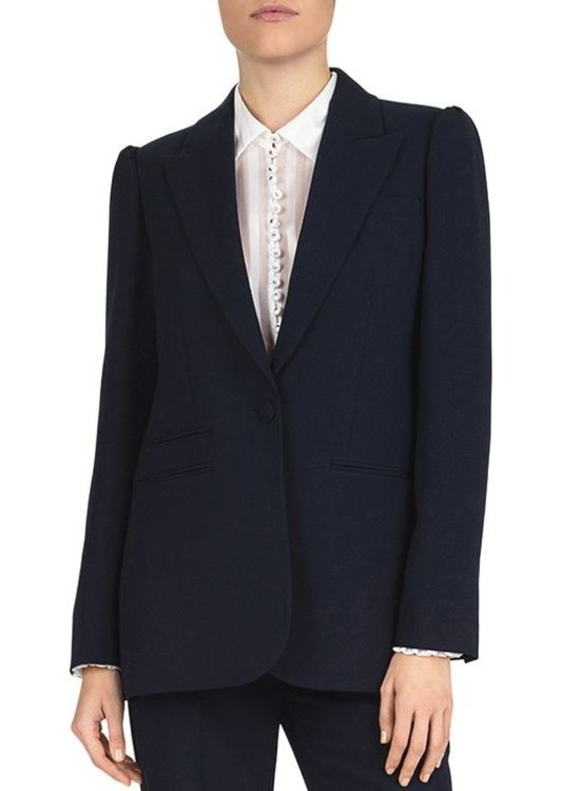 The Kooples Marta Crepe Blazer