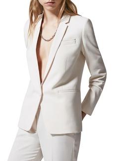 The Kooples Marta Single Button Blazer