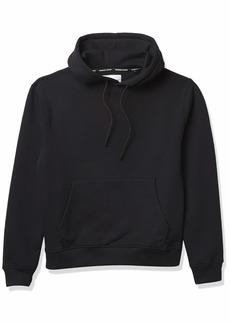 The Kooples Men's Hooded Sweatshirt with Skullhead Motif on Back  Extra Large