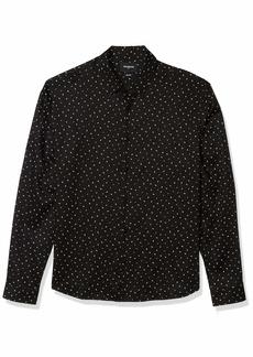 The Kooples Men's Men's Button-Down Shirt in a Letter Print  M