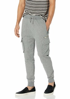 The Kooples Men's Fleece Joggers with Cargo Pockets  Extra Large
