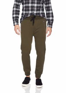 The Kooples Men's Men's Fleece Sweatpants with Distressed Details  M