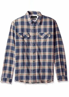 The Kooples Men's Men's Long Sleeve Button-Down Check Shirt