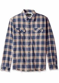 The Kooples Men's Long Sleeve Button-Down Check Shirt