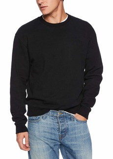 The Kooples Men's Men's Long Sleeve Sweatshirt with Distressed Details  L
