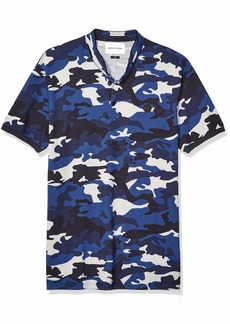The Kooples Men's Men's Polo in a Camouflage Print