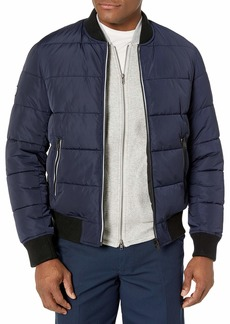 The Kooples Men's Men's Quilted Reversible Bomber Jacket  L