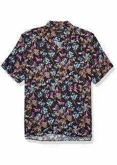 The Kooples Men's Men's Short Sleeve Hawaiian Shirt