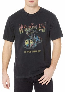The Kooples Men's Short-Sleeved Crew Neck T-Shirt with Graphic on Front