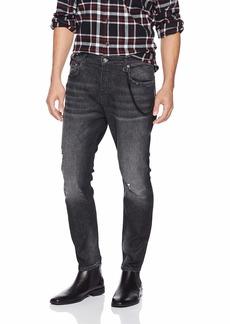 The Kooples Men's Men's Skinny Basic Denim Jeans with Rips