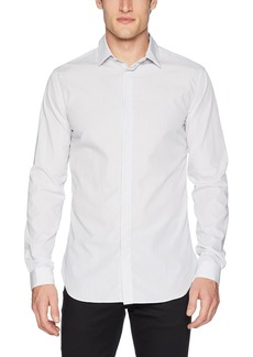 The Kooples Men's Slim Button Down Shirt with Skinny Stripes  XL