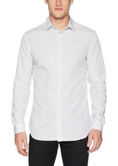 The Kooples Men's Men's Slim Button Down Shirt with Skinny Stripes  XL