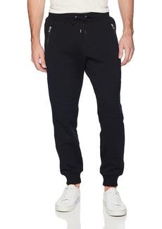 The Kooples Men's Men's Soft Fleece Biker Sweatpants  M