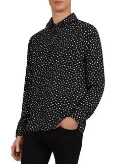 The Kooples Micro-Dot Classic Fit Shirt