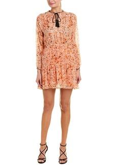 The Kooples Mimosa Silk Shift Dress