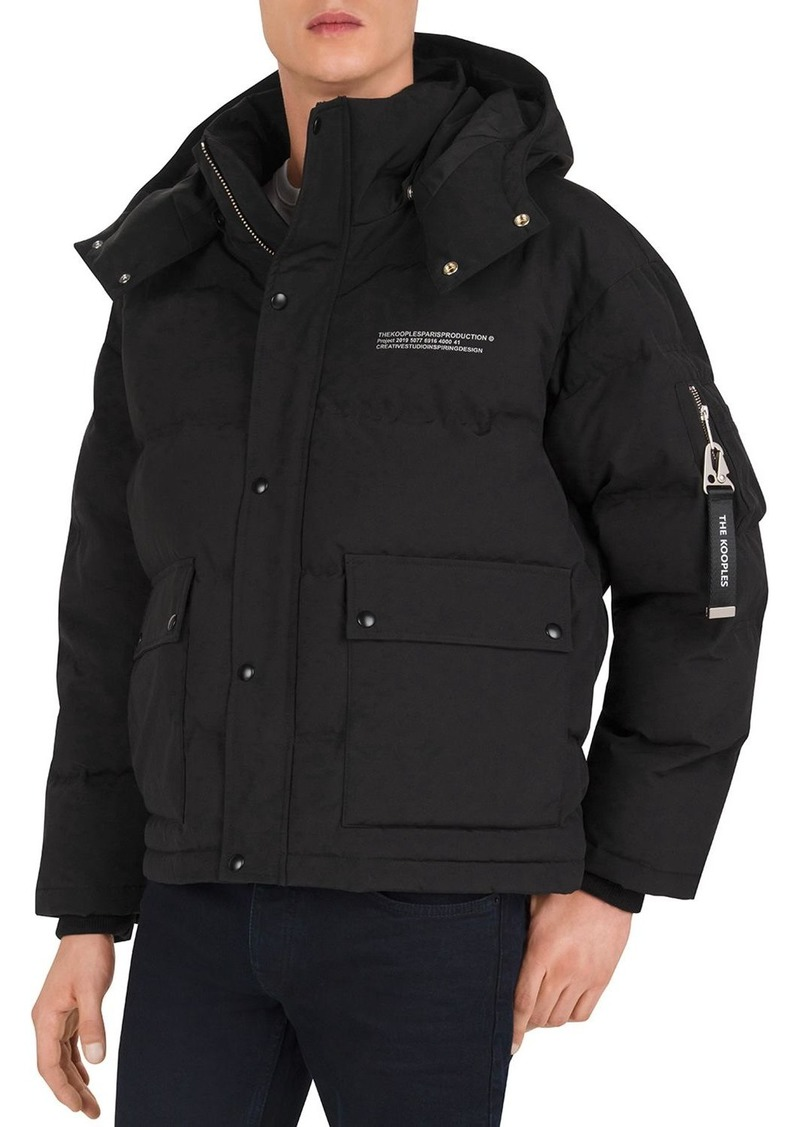 The Kooples Mix Down Puffer Jacket