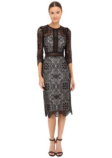 The Kooples Mix Openwork Lace Dress