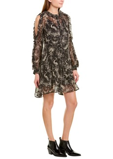 The Kooples Moonlight Silk Shift Dress