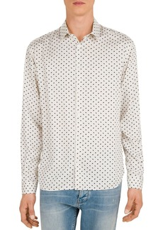 The Kooples New Lightning Party Slim Fit Shirt