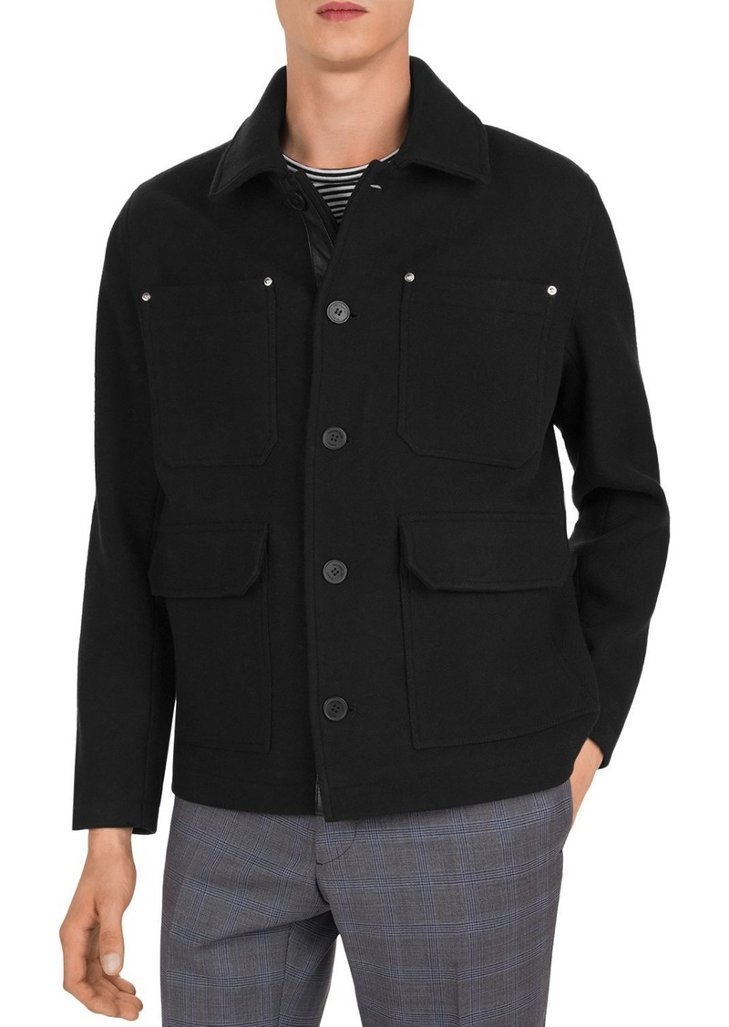 The Kooples Ninfetta Classic Collar Jacket