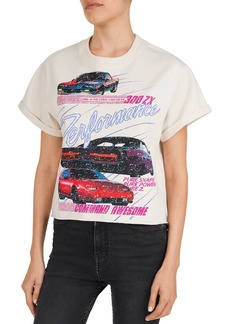 The Kooples Performance Sports Car-Motif Graphic Tee