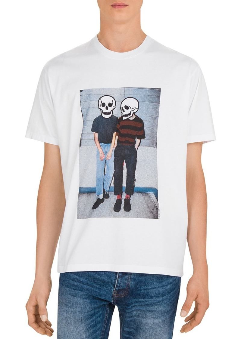 The Kooples Photo Print Crewneck Tee