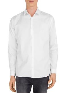 The Kooples Piqu� Slim Fit Shirt