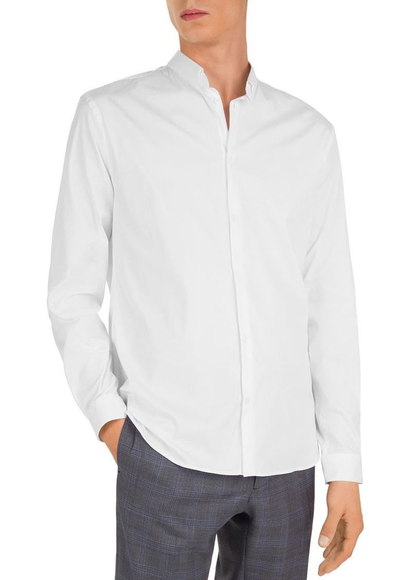 The Kooples Royal Popeline Slim Fit Button-Down Shirt