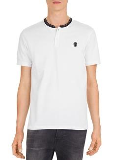 The Kooples Skull Patch Piqu� Regular Fit Polo Shirt