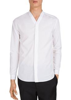 The Kooples Smerigliato Popeline Slim Fit Shirt