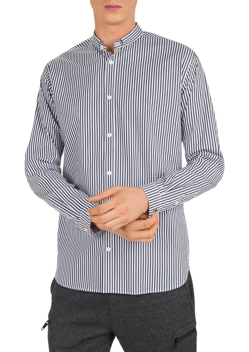 The Kooples Striped Slim Fit Button-Down Shirt