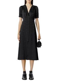 The Kooples Studded Midi Dress