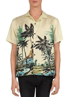The Kooples Summer Palms Regular Fit Shirt