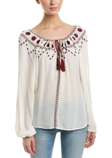 The Kooples Sunrise Embroidery Top