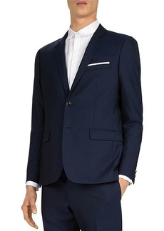 The Kooples Tonic Seams Wool Suit Jacket