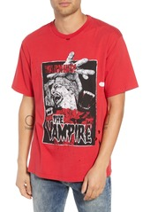 The Kooples Vampire Distressed Graphic T-Shirt
