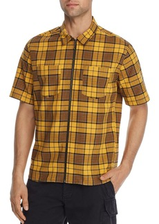 The Kooples Vintage Neon Checked Regular Fit Shirt - 100% Exclusive