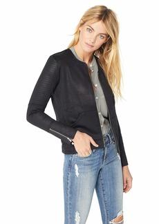 f40118da34b The Kooples The Kooples Women's Women's Leather Effect Biker Style ...