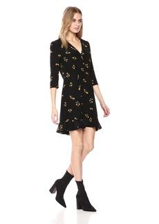The Kooples Women's Popcorn Flower V-Neck Dress