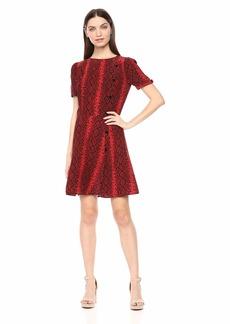 The Kooples Women's Women's Snake Print Dress red